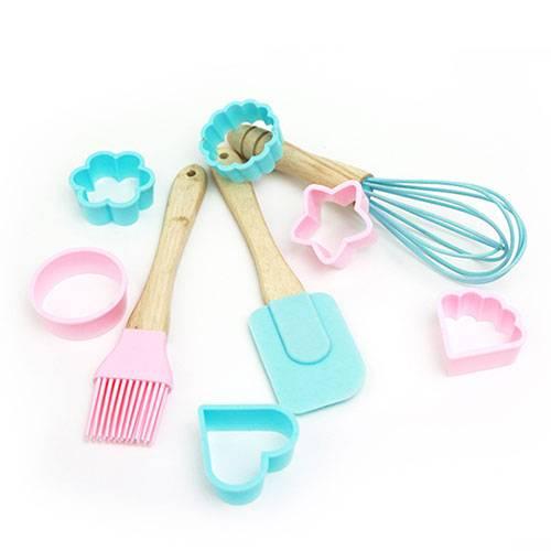 Children-DIY-Mini-silicone-spatula-brush-and